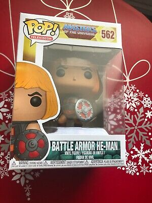 Funko Pop! Masters Of The Universe Battle Armor He-Man