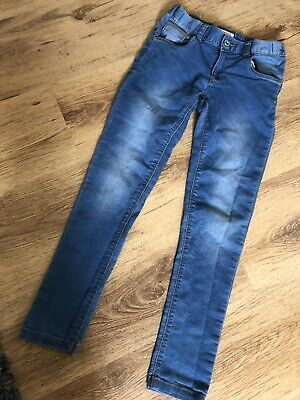Bluezoo Blue Skinny Jeans Age 10 Girl
