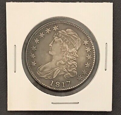Mint Copy 1817 Capped Bust Half Dollar Lettered Edge 50¢