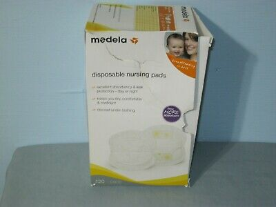 Medela Disposable Nursing Pads Discreet Under Clothing Box Of 120 Pads