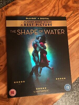 The Shape Of Water Blu Ray Watched Once