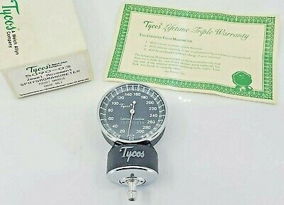 Tycos / Welch Allyn 5090-03 Jewel Movement Sphygmomanometer Pocket Aneroid Gauge