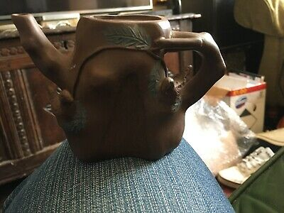 Antique Xi Ying Teapot With Missing Lid