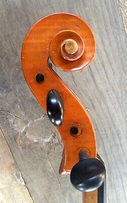 CELLO  MAX MOCKEL Charlottenburg 1920 SOUND SAMPLE violoncello german old antico