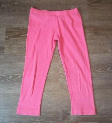 Hannah Andersson Ribbed Leggins Girls Size 150 US Size 12 Pink Cropped Capri