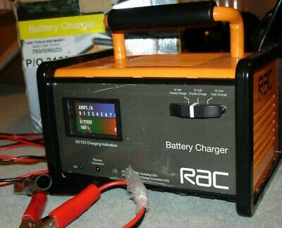 RAC – HP026 Battery Charger. (6V and 12V)