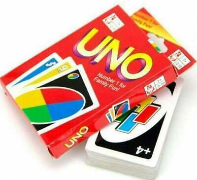 UNO Card Friend Family New Fun Game CARDS PARTY GIFT with Sealed