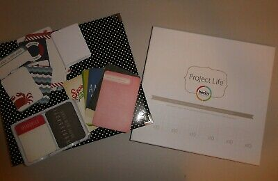 Becky Higgins Project Life Photo Album, Pocket Pages, Journaling Cards