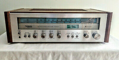 Technics SA-5170 FM AM Stereo Receiver, cleaned & working, new lamps