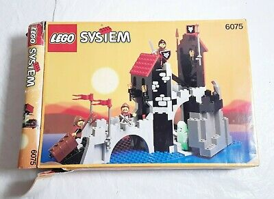 LEGO system 6075 Wolfpack Tower  INCOMPLETE Box, no instructions 1992