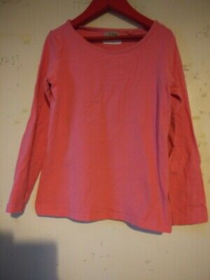 Next Girls Aged 8 Years. Pink Long Sleeved T Shirt