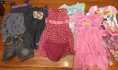 Girls Size 2T lot of 10 - Gap, Old Navy, Carters, Disney Princess, Squeeze