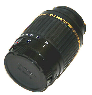 Tamron AF 55-200mm f/4-5.6 Di II LD Macro for Canon EOS Mint +caps and UV Filter