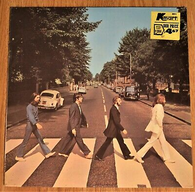 The Beatles ABBEY ROAD original factory sealed LP first pressing