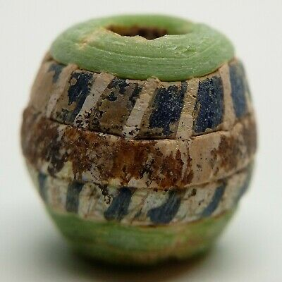 Bead Glass 1000-600BC. Scythian Celtic Amulet / Bosporus