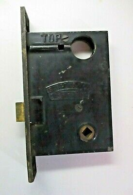 Sargent Easy Spring Double Push Pin Right Hand Bare Mortise Lock Antique Cond.