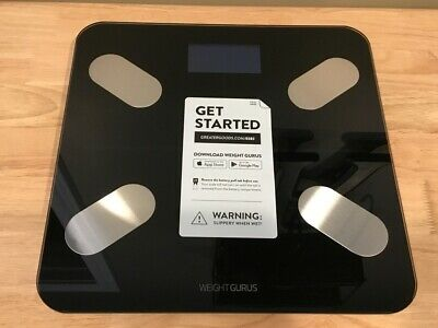GreaterGoods Bluetooth Digital Body Fat Weight Scale, Smart Body Composition