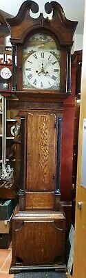 Antique 8 Day Grandfather Clock - Delivery Arranged