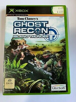 tom clancys ghost recon island thunder - XBOX - complete manual