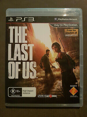 The Last of Us PS3 Game PlayStation 3 - COMPLETE