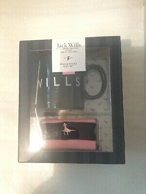 Jack Wills Men's Mug and Socks Gift Set - BNIB