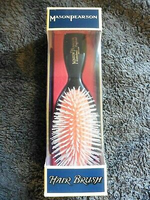 Mason Pearson Nylon N4 Hair Brush Dark Ruby