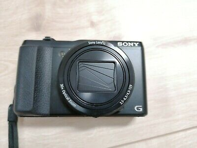 Sony Cyber-shot DSC-HX50V 20.4 MP Digitalkamera - Schwarz