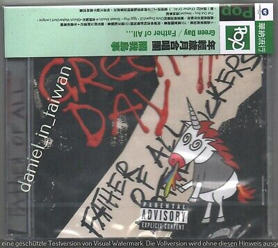 Green Day: Father of all (2020) TAIWAN OBI CD SEALED