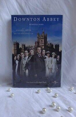 "DVD-Box ""Downton Abbey Staffel 1"" (Amaray) mit Maggie Smith - NEU!!!"