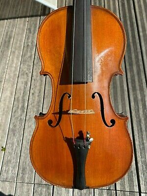 Old French Violin with italian label '' Giouani Grancino '' very good condition