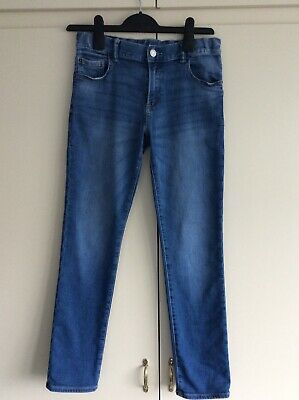 GAP kids boys blue denim jeans age 14 regular slim fit