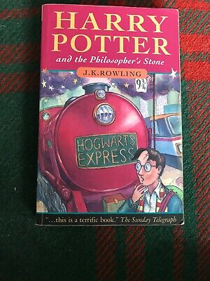 RARE Harry Potter & the Philosopher's Stone 1st Edition WITH ERRORS good con
