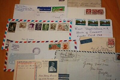 World postal covers - old/modern varied mix - some airmail / MP cover job lot
