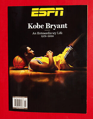Kobe Bryant - ESPN Magazine - Special Edition 2020 Tribute BOOK