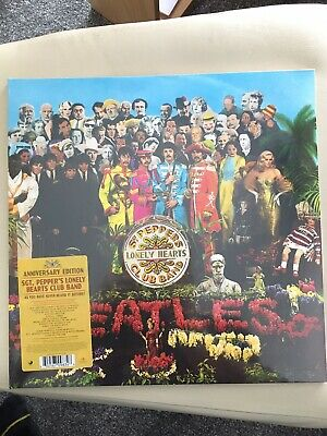 The Beatles: Sgt. Pepper's Lonely Hearts Club Band Vinyl LP Anniversary Edition