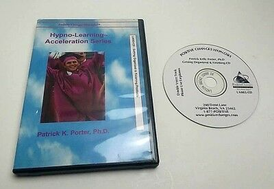 AUDIO CD Hypno-Learning Acceleration Series POSITIVE CHANGES HYPNOSIS Education