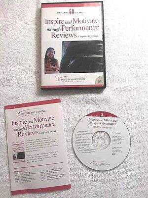 Audio CD + Pamphlet INSPIRE & MOTIVATE - PERFORMANCE REVIEWS Step by Step Guide