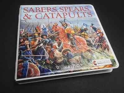 Sabers, Spears, & Catapults by William Potter Audio CD Set Warrior Bible Times