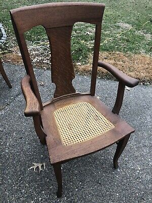 Buffalo Chair Works antique dining chairs set of 6