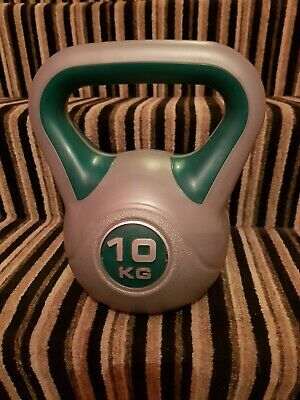 Kettlebell Weights Strength Training Fitness Workout Home Gym 10kg