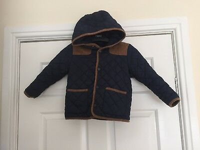Boys Urban Rascals Hooded jacket coat size 4 yrs  Nice clean Con
