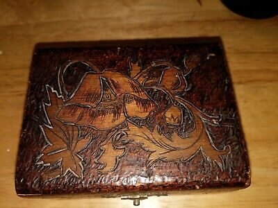 Antique Arts And Crafts Trinket Box