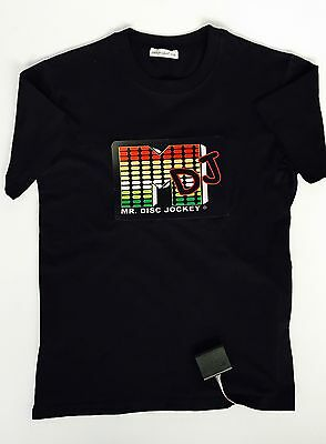 Multi Colour Light Up Tshirt Size S Fully  Working In Excellent Condition Unisex