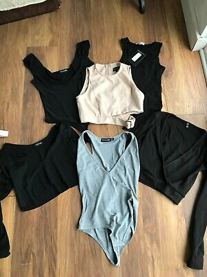 Bundle Of Clothes Pretty Little Thing Misguided Topshop Etc Clothes All Size 6
