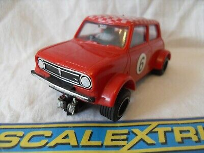 Classic Scalextric Austin Mini Clubman 1275 GT. C122. Complete Tested & Serviced