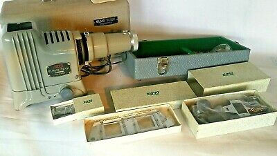 ELMO Elmo slide-51 - Film Strip & Slide Film Projector - Case & film carriers.