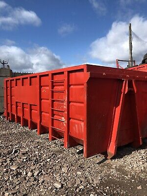 30 Yard Roll On Off Skips Hookloader Tipping Doors Inert/glass/Fines(Choice Of 6