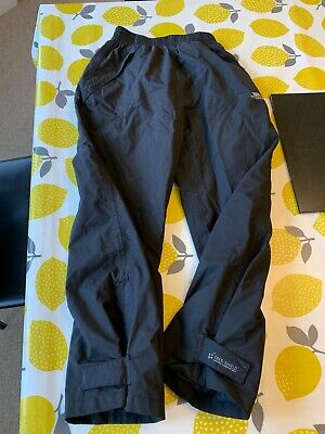 Trespass children's waterproof over trousers (lined) age 7-8 (122-128cm)
