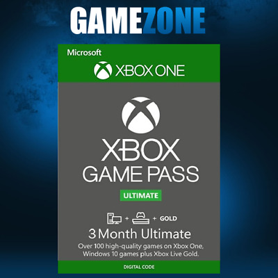 Xbox Game Pass Ultimate | 3 Month Membership | Live Gold Xbox One - Download
