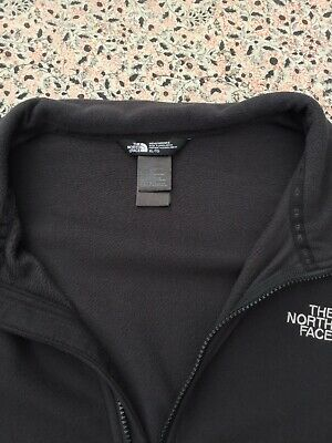 THE NORTH FACE - Charcoal - Four Pocket - Zip Up - Fleece - Jacket - XL